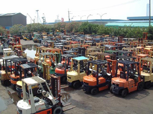 Southern California Used Forklifts & Equipment : R&J